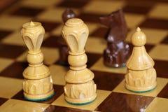 Jouez la mesure d'échecs Images libres de droits