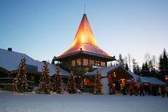 Joulupukkibureau Royalty-vrije Stock Afbeeldingen