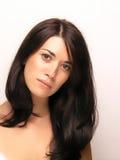 Joung Beautiful Woman Face Stock Photography