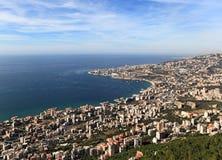 Jounieh Libanon arkivfoton