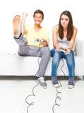 Jouons un jeu ! Image stock