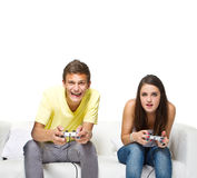 Jouons un jeu ! Photographie stock libre de droits