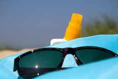 Jour à la plage Photo stock