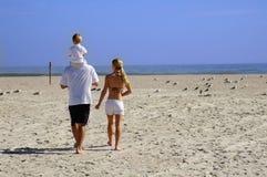 Jour à la plage Photos stock