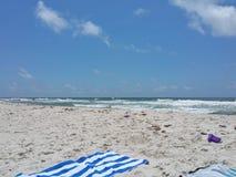 Jour à la plage Image stock