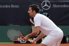 Jour 2, cuvette 2012 d'équipe du monde de cheval de pouvoir de tennis Image stock
