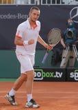 Jour 2, cuvette 2012 d'équipe du monde de cheval de pouvoir de tennis Images stock