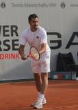 Jour 2, cuvette 2012 d'équipe du monde de cheval de pouvoir de tennis Photos stock