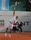 Jour 2, cuvette 2012 d'équipe du monde de cheval de pouvoir de tennis Photo libre de droits