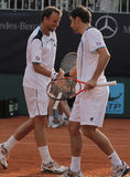 Jour 2, cuvette 2012 d'équipe du monde de cheval de pouvoir de tennis Photographie stock libre de droits