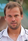 Jour 2, cuvette 2012 d'équipe du monde de cheval de pouvoir de tennis Photo stock