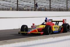 Jour 2011 de Sebastian Saavedra Indianapolis 500 Pôle image libre de droits