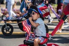 Jour américain de célébration pour tous les âges Images stock