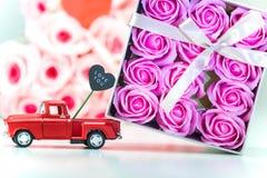 Jour, amour et coeur de valentines Photographie stock libre de droits