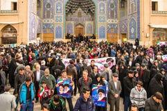 Jour annuel de révolution dans Esfahan, l'Iran Photo libre de droits
