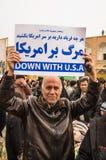 Jour annuel de révolution dans Esfahan, l'Iran Image libre de droits