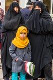 Jour annuel de révolution dans Esfahan, l'Iran Photos stock