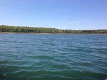 Jour au lac Photos libres de droits