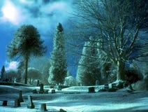 Jour bleu Photo stock