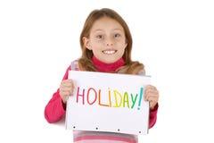jour chaque amour des vacances i Photos libres de droits