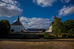 Jour confortable dans le paysage de parc dans Gotha image stock