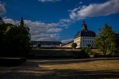 Jour confortable dans le paysage de parc dans Gotha photographie stock