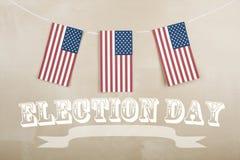 Jour d'élection Image libre de droits