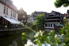 Jour d'été à Strasbourg Photographie stock