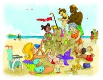 Jour d'été Images libres de droits