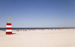 Jour d'été chaud à la Mer du Nord Images stock