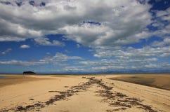 Jour d'été dans Abel Tasman National Park Photo stock