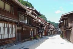 Jour d'été de Narai-juku Image libre de droits