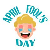 Jour d'April Fool s illustration libre de droits