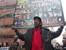 Jour d'arrêt de l'action NYC le 14 avril 2015 Image libre de droits