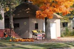 Jour d'automne dans le Wisconsin photographie stock libre de droits