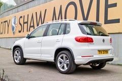 Jour d'entraînement d'essai de Volkswagen Tiguan 2015 Photographie stock libre de droits