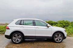 Jour d'entraînement d'essai de Volkswagen Tiguan 2016 Photo stock