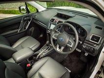 Jour d'entraînement d'essai de Volkswagen Tiguan 2016 Image stock
