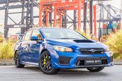 Jour d'entraînement d'essai de STI 2017 de Subaru WRX Photos stock