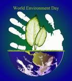 Jour d'environnement du monde Photos stock
