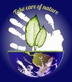 Jour d'environnement du monde Image stock