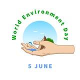Jour d'environnement du monde Photos libres de droits