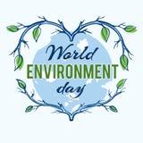 Jour d'environnement du monde Photographie stock