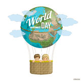 Jour d'environnement du monde Illustration de vecteur Image stock