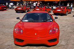 Jour d'exposition de Ferrari - 360 enjeu Stradale Photo stock