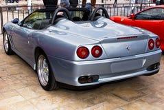 Jour d'exposition de Ferrari - 550 Barchetta - extrémité arrière Image stock