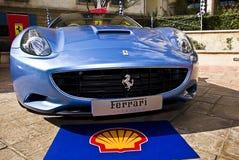 Jour d'exposition de Ferrari - Ferrari la Californie - gril Image libre de droits