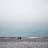 Jour d'hiver à Nice Photo libre de droits