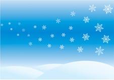 Jour d'hiver illustration de vecteur
