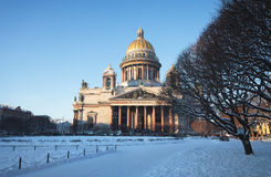 Jour d'hiver Images libres de droits